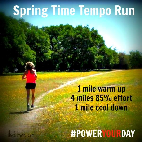 Spring Time Tempo Run