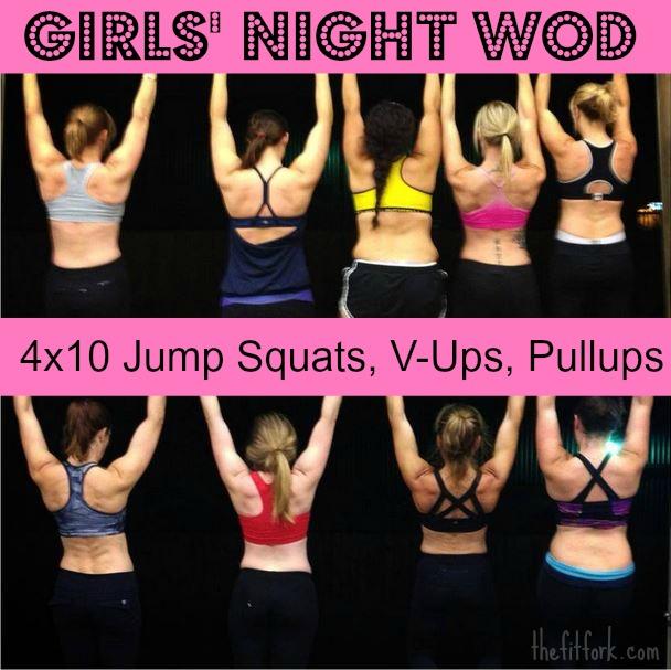 Girls' Night Workout