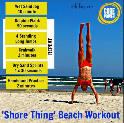 Shore Thing Beach Workout
