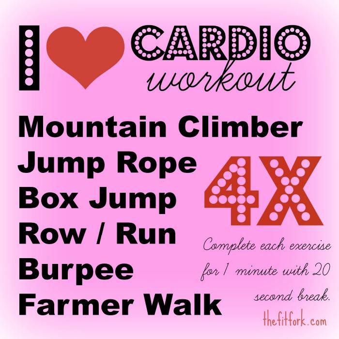 I Heart Cardio Workout