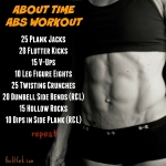 About Time Abs Workout