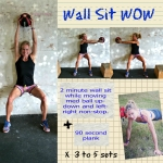 Dynamic Wall Sit Workout