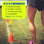 4-3-2-1 Workout