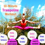 10 Minute Trampoline Workout