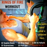 Rings of Fire Workout