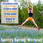 Speedy Spring Workout