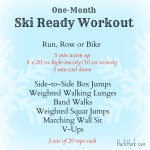 Ski Ready Workout
