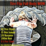 Full Body Tire Flip Workout