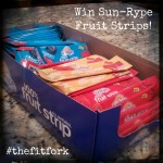 A Tasty Giveaway Today – Sun-Rype 100% All-Natural Fruit Snacks