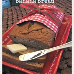 """Nutrish"" Caramelized Banana Bread Recipe"