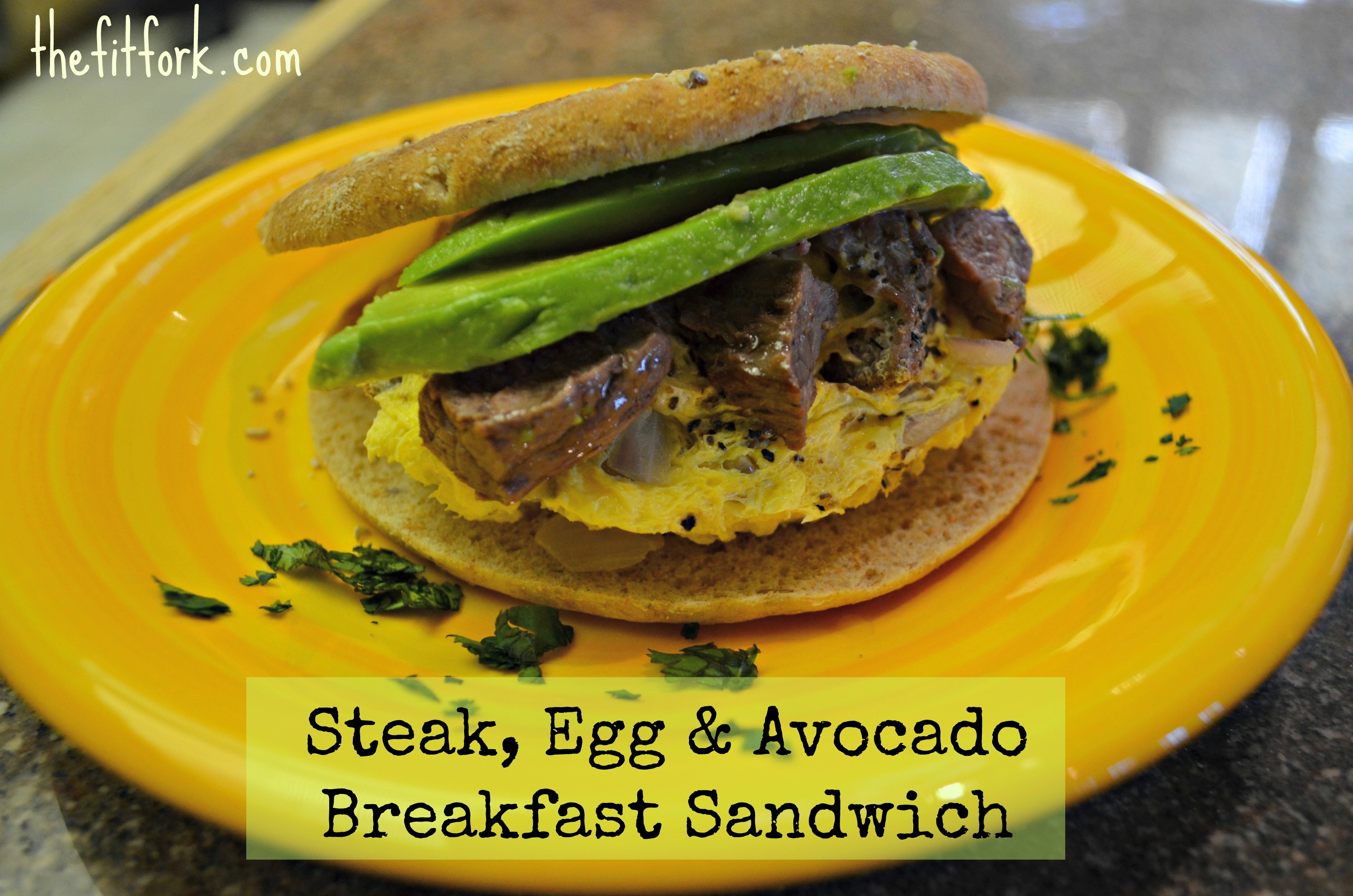 Ditch the Drive-Thru! Make a Steak-Egg-Avocado Breakfast Sandwich ...