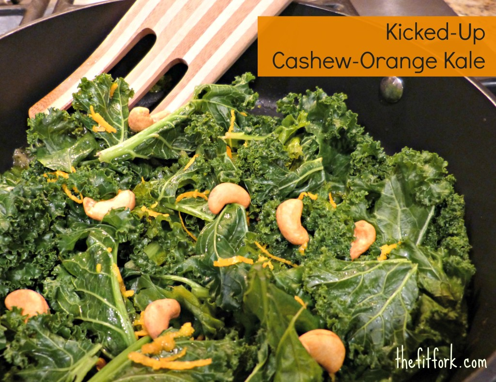 jennifer fisher - thefitfork.com - cashew orange kale