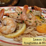 So Zesty! Lemon Citrus Spaghetti and Shrimp Recipe