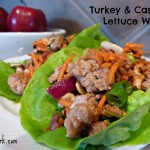 Turn Over a New Leaf! Asian Turkey & Cashew Lettuce Wraps (Recipe)