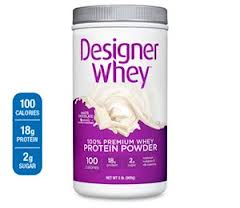 White Chocolate is just one of the many decadent Designer Whey flavors!