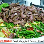 Fresh Feast – Farmer's Market Beef, Veggie & Brown Rice Salad