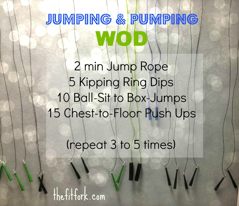 jennifer fisher - thefitfork.com - jumping and pumping WOD