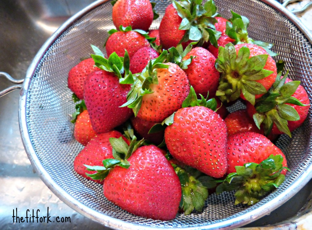 strawberries thefitfork.com