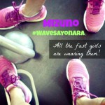Sayonara Sprint Partner Running Workout and Mizuno Wave® Sayonara Review