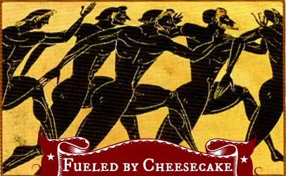 ancient runners cheesecake