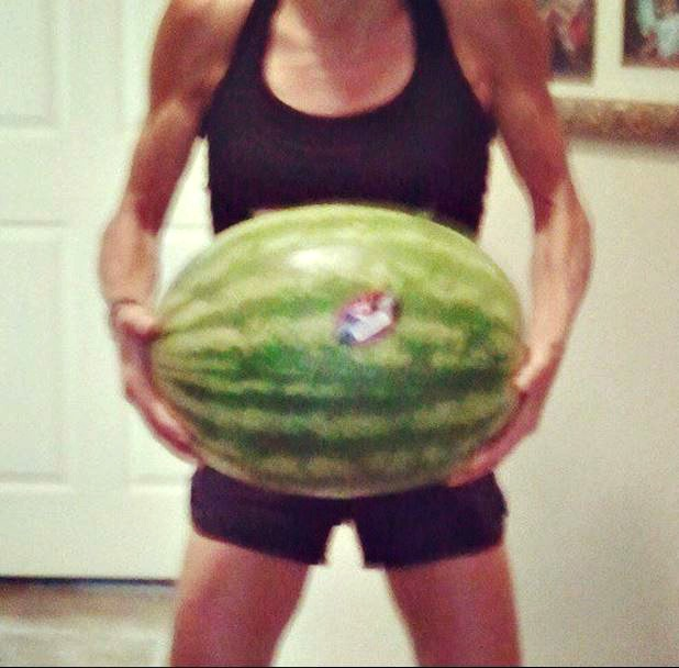 watermelon should feel heavy