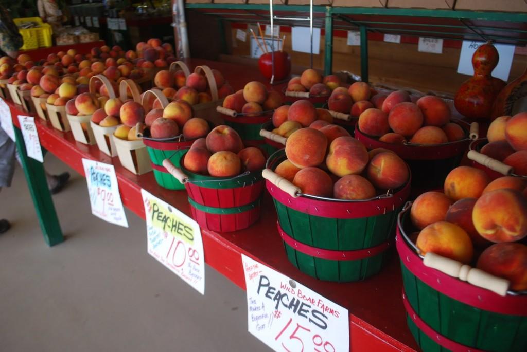 peach stand