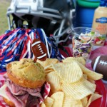 Winning Gridiron Grub | Ranch Cornbread Sliders & Crunchy Veggie Salad
