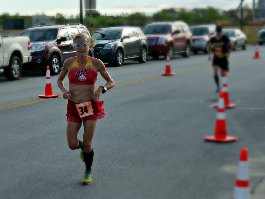 Compression socks for the win at CASA Superhero 5k this weekend!