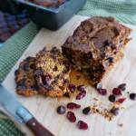 Chocolate Chip Cranberry Pumpkin Bread Recipe { #Paleo & #GlutenFree }