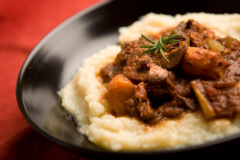 Pot Roast on Cauliflower from Paleo Comfort Foods.