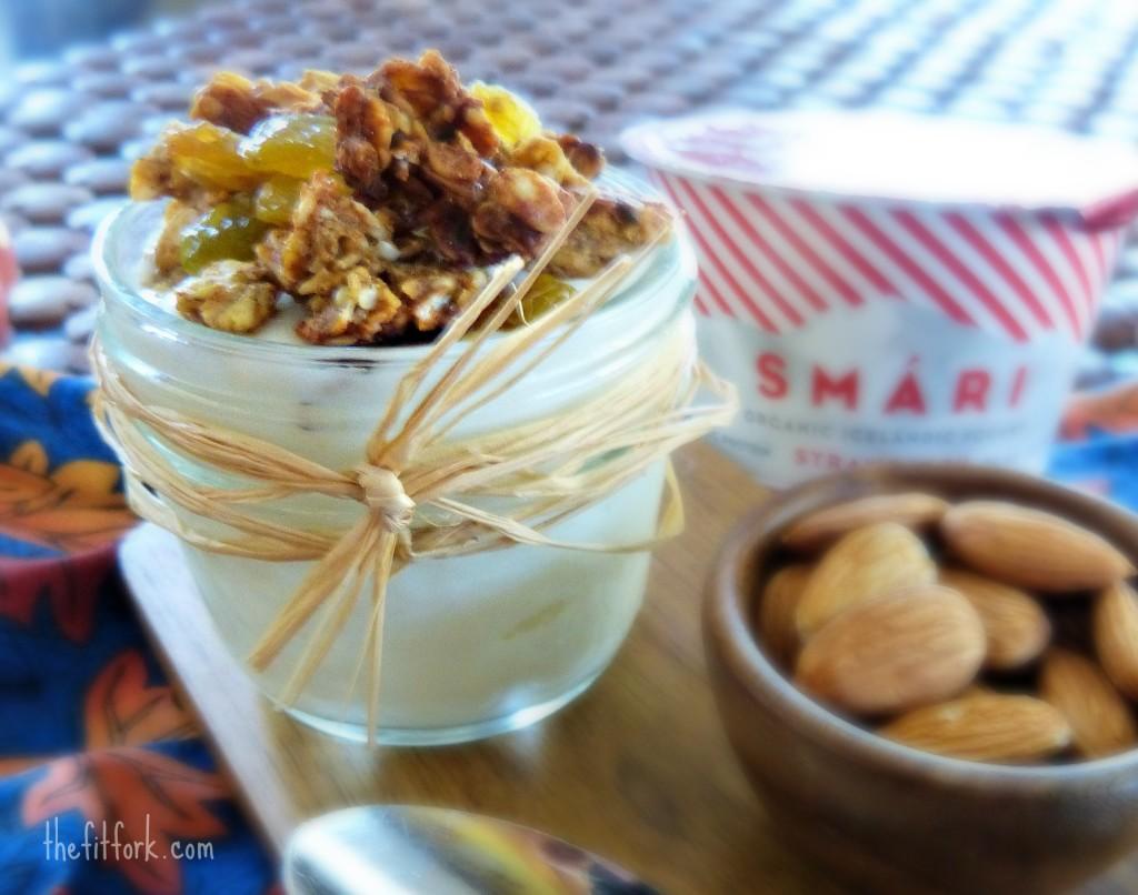 pumpkin protein granola smari yogurt thefitfork