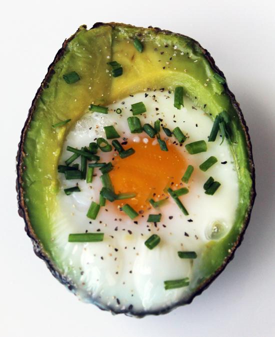 From FitSugar.com - Baked Avocado Eggs