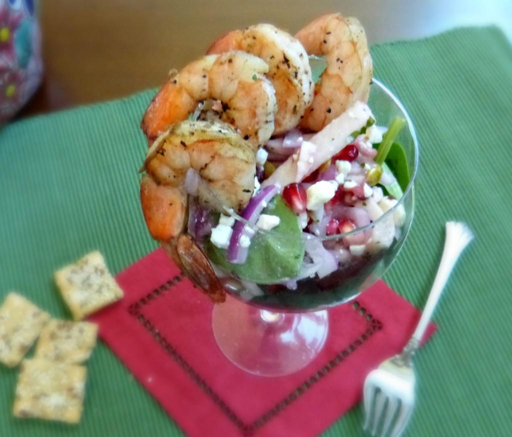 jennifer fisher litehouse jicima pomegranat salad individual big