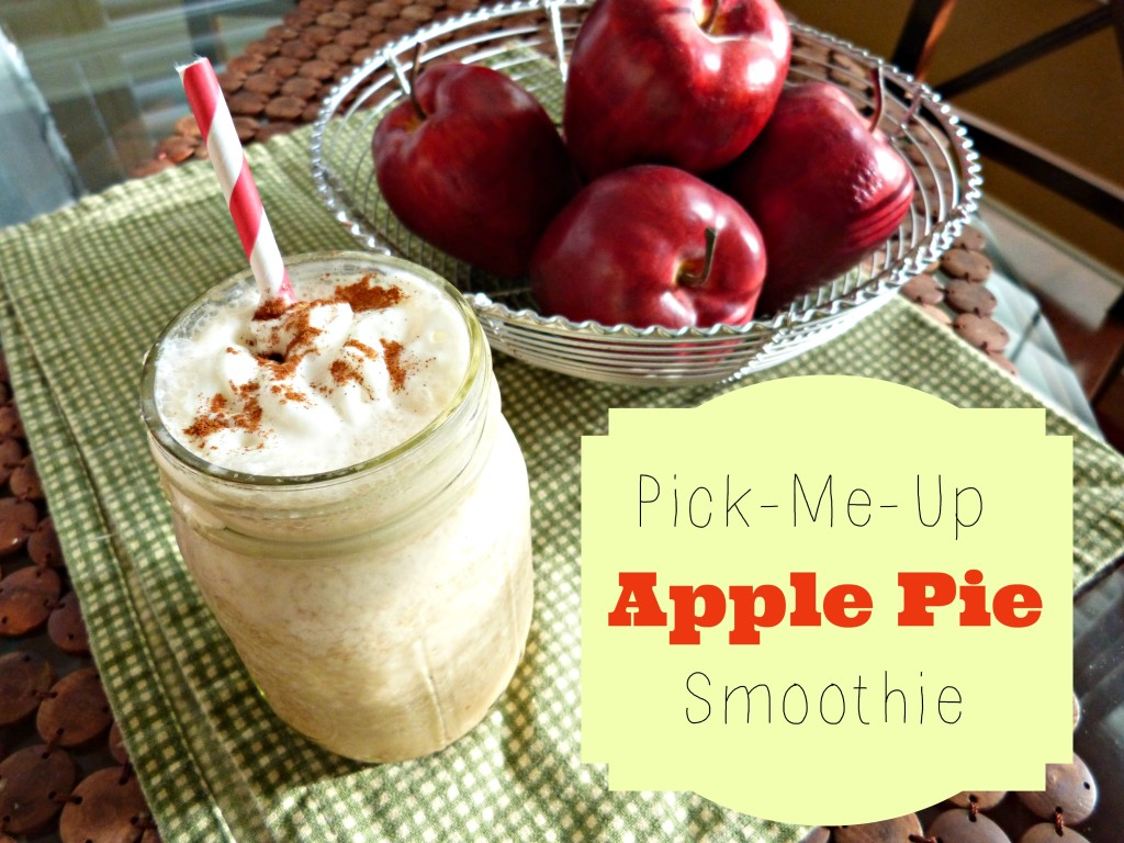 jennifer fisher thefitfork apple pie smoothie