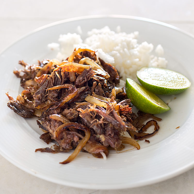 From Cook's Illustrated: Vaca Frita, yeah -- that's right - Fried Cow!
