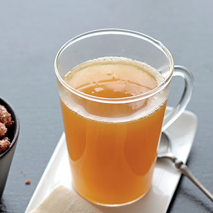 Apple Jack Hot Spiced Cider . . . made with brandy!
