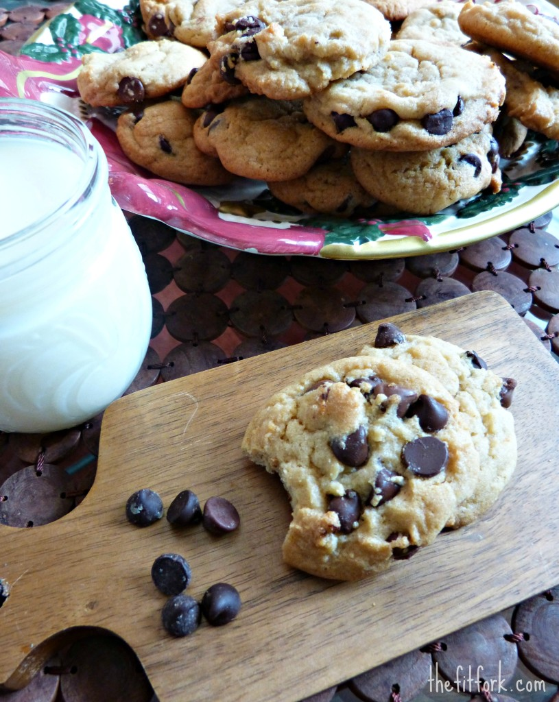jennifer fisher thefitfork best chocolate chip cookie