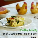 Protein for Breakfast | Healthy Beef & Egg 'Barn-Raiser' Bake