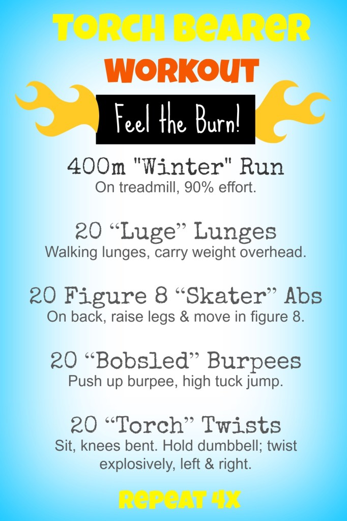 workout with burpees lunges abs