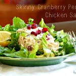 Skinny Cranberry Pecan Chicken Salad + Jump Rope Workout