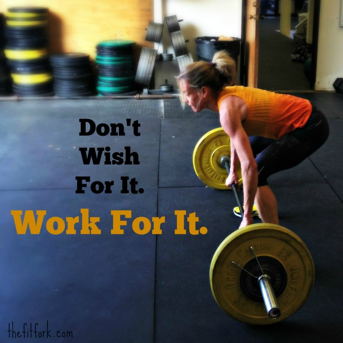 crossfit clean woman