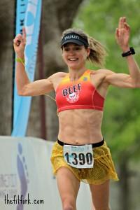 This is my favorite race photo ever - Zooma Half Marathon 2013 -