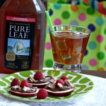 """Me Time"" with Pure Leaf Tea & Raspberry Chocolate Apple Rounds Recipe"