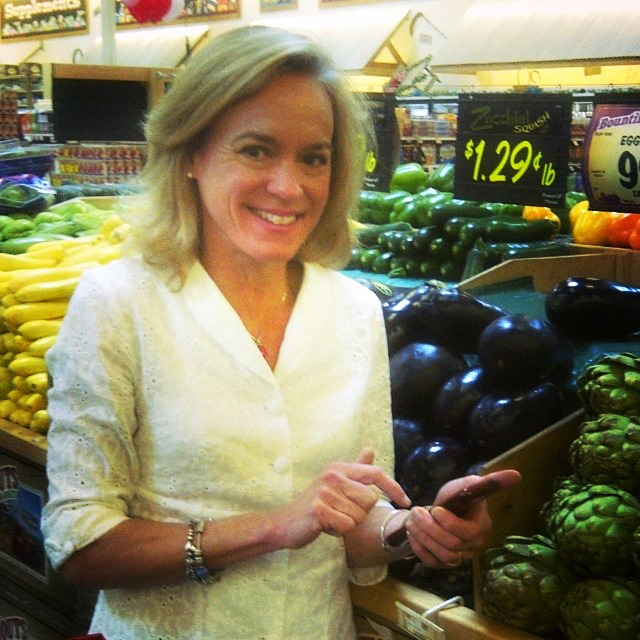 Jennifer Fisher at Sprouts