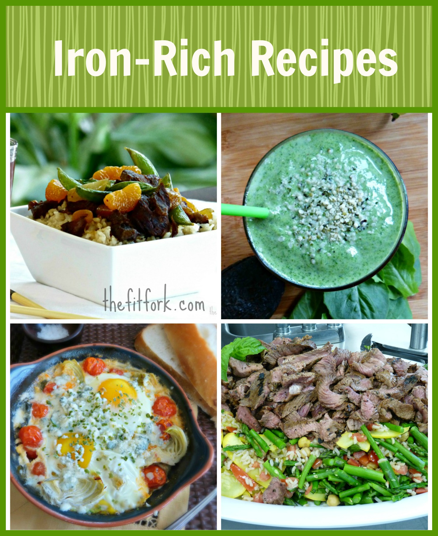 iron rich recipes thefitfork