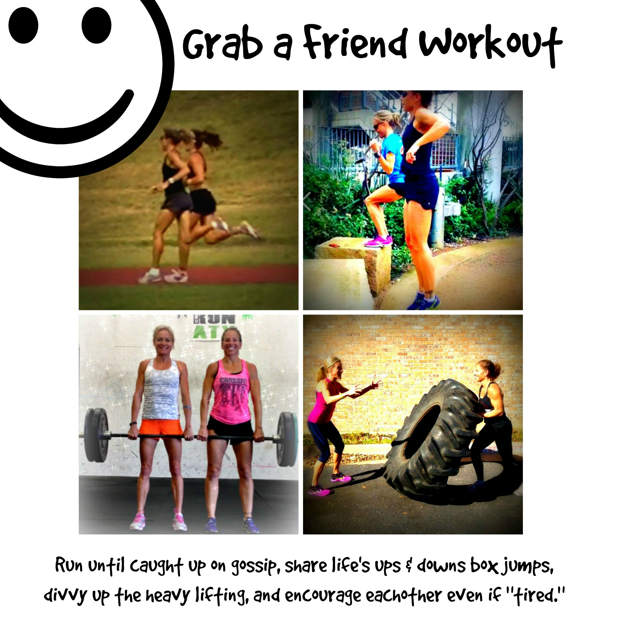 Partner Workout with friend