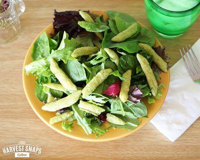harvast snap salad