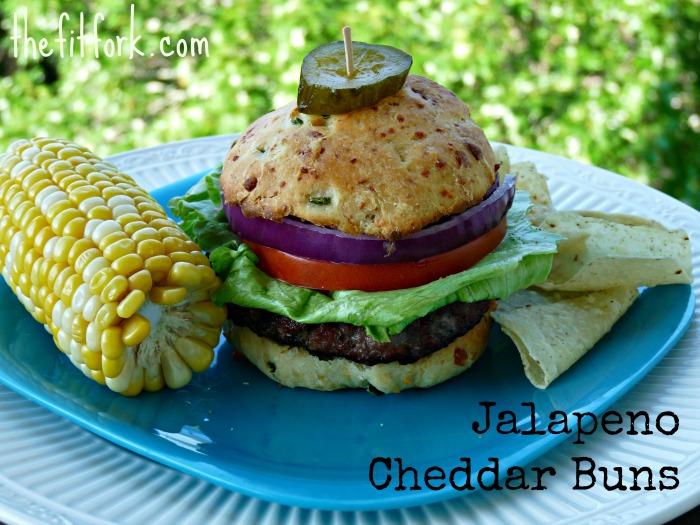 Beef Buger on Jalapeno Bun