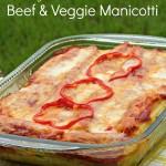 Skinny Mama Beef & Veggie Manicotti Recipe Makeover