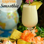 Hula-la-la! Pineapple Smoothie & Sweet Hawaiian Beef Burgers